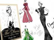 "Odtwórz Album ""The Dress: 100 Iconic Moments in Fashion"" z ilustracjami Megan Hess"