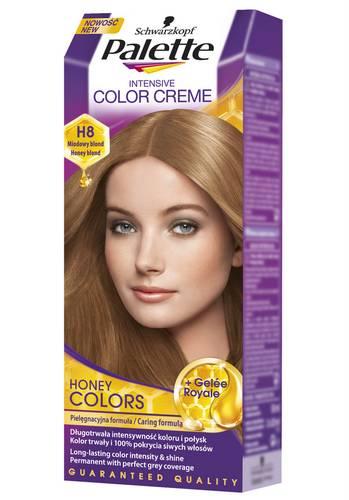 Краска палет медовый цвет волос